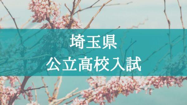 高校 2021 埼玉 県 日程 公立 入試