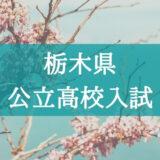 【2021年】入試の仕組みが分からない…栃木県・公立高校の入試システムを解説!